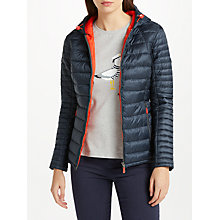 Buy Barbour Heavenfield Hooded Padded Jacket, Navy Online at johnlewis.com