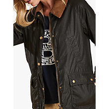 Buy Barbour Lightweight Acorn Waxed Jacket Online at johnlewis.com
