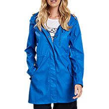 Buy Barbour Harbour Waterproof Jacket, Victoria Blue Online at johnlewis.com