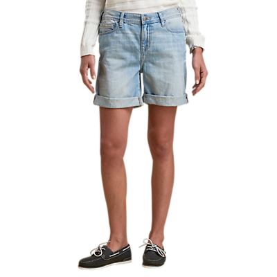 Barbour Daisyhill Denim Shorts, Bleach