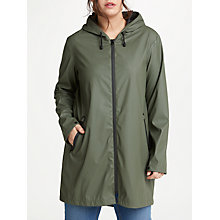 Buy JUNAROSE Kamelia Parka Raincoat, Khaki Online at johnlewis.com