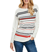 Buy Barbour Whitby Stripe Jumper Online at johnlewis.com