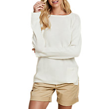 Buy Barbour Pembrey Jumper, Cloud Online at johnlewis.com
