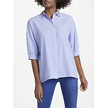 Buy Essentiel Antwerp Pepsa Oversized Embroidered Collar Shirt Online at johnlewis.com