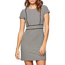 Buy Miss Selfridge Piped Mini Dress, Assorted Mono Online at johnlewis.com