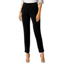 Buy Coast Petite Madrid Trousers, Black Online at johnlewis.com