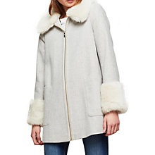 Buy Miss Selfridge Swing Duffle Coat Online at johnlewis.com