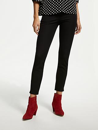 Finery Ackland Skinny Trousers, Black