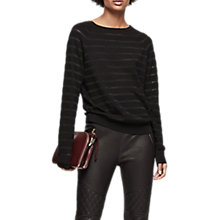 Buy Reiss Saffi Stripe Jumper Online at johnlewis.com