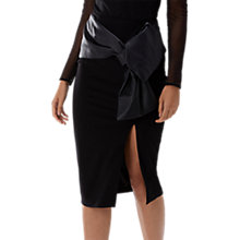 Buy Coast Lui Pencil Skirt, Black Online at johnlewis.com
