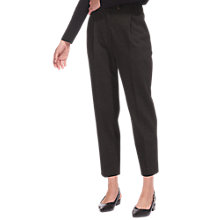 Buy Whistles Ponte Carrot Trousers, Grey Online at johnlewis.com