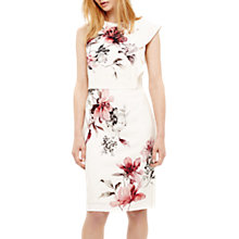 Buy Phase Eight Sandy Floral Print Dress, Cream/Multi Online at johnlewis.com
