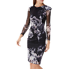 Buy Coast Molly Frill Detail Dress, Multi Online at johnlewis.com