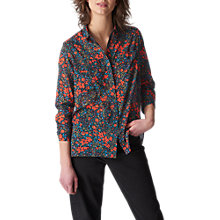 Buy Whistles Lottie Print Voile Blouse, Multi Online at johnlewis.com