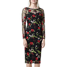 Buy Finery Frampton Embroidered Dress, Multi Online at johnlewis.com