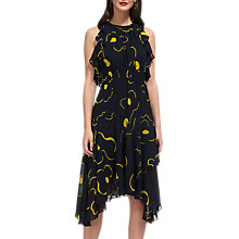 Buy Whistles Anne Magnolia Print Dress, Navy/Multi Online at johnlewis.com