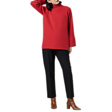 Buy Finery Epping Jumper, Red Online at johnlewis.com