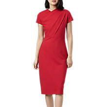 Buy Finery Miller Twist Detail Pencil Dress, Red Online at johnlewis.com
