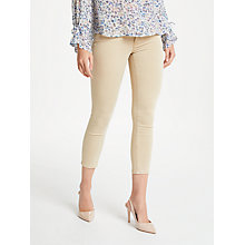 Buy AG The Prima Mid Rise Skinny Cropped Jeans, Sulfur Sand Dune Online at johnlewis.com