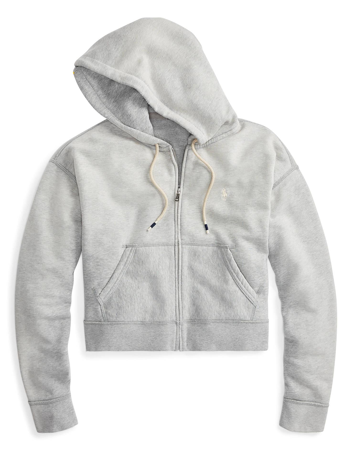 996e104c06457 ... Buy Polo Ralph Lauren Cropped Fleece Full-Zip Hoodie