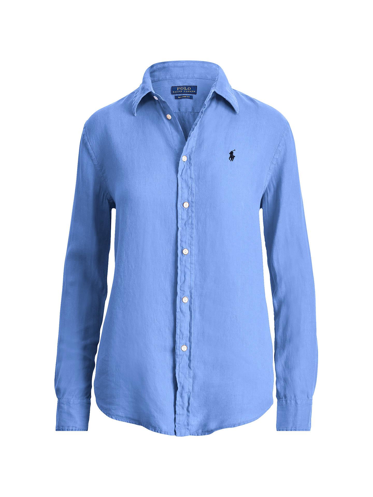 283938781dfa Polo Ralph Lauren Relaxed Fit Linen Shirt at John Lewis   Partners