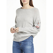 Buy 360 Sweater Nova Cashmere Jumper, Grey Online at johnlewis.com