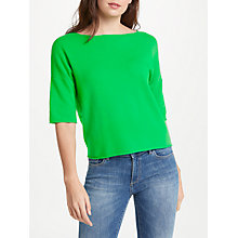 Buy 360 Sweater Sofia Jumper, Jade Online at johnlewis.com