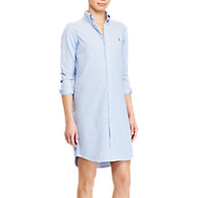 Buy Polo Ralph Lauren Oxford Long Sleeve Shirt, Harbor Island Blue Online at johnlewis.com