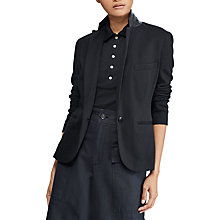 Buy Polo Ralph Lauren Peplum Jacket, Polo Black Online at johnlewis.com