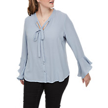 Buy JUNAROSE Evelina Blouse, Ashley Blue Online at johnlewis.com