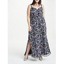 Buy JUNAROSE Bonita Maxi Dress, Navy Online at johnlewis.com