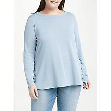 Buy JUNAROSE Fie Blouse Top, Pale Blue Online at johnlewis.com