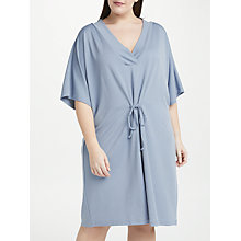 Buy JUNAROSE Malou Tie Front Dress, Ashley Blue Online at johnlewis.com