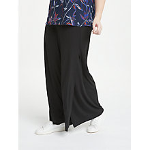 Buy JUNAROSE Lipstick Trousers, Black Online at johnlewis.com
