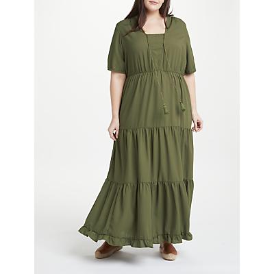 JUNAROSE Felicity Maxi Dress, Khaki