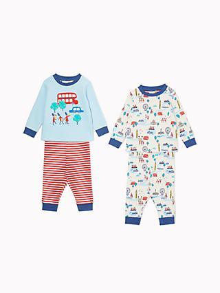 John Lewis   Partners Baby GOTS Organic Cotton London Pyjamas 51695c351