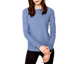 Buy Lolë Mireille Long Sleeve Yoga T-Shirt, Light Denim Heather Online at johnlewis.com