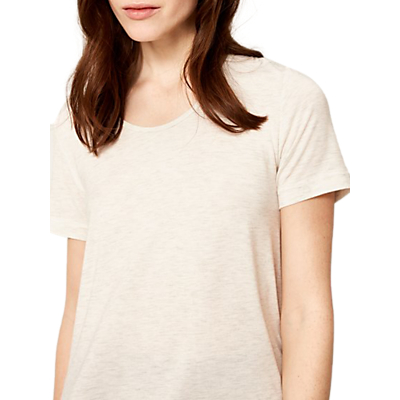 Lolë Xandra Short Sleeve Yoga Top, Lush Heather