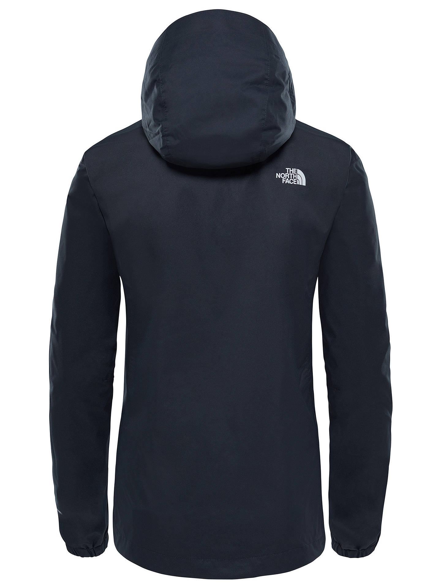 Buy The North Face Quest Women's Waterproof Jacket, Black, S Online at johnlewis.com