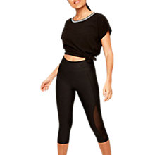 Buy Lolë Running Capris, Black Ankara Online at johnlewis.com