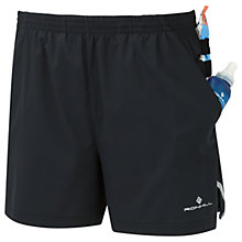 Buy Ronhill Stride Cargo Running Shorts, Black Online at johnlewis.com