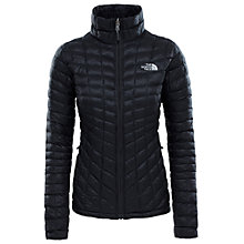 Buy The North Face Thermoball Full-Zip Women's Insulated Jacket, Black Online at johnlewis.com