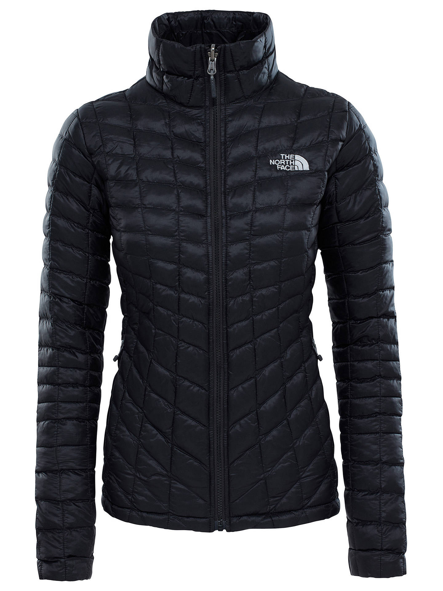 4cbc6fd39 The North Face Thermoball Full-Zip Women's Insulated Jacket, Black ...