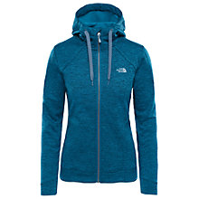 Buy The North Face Kutum Full Zip Fleece Women's Hoodie Jacket, Blue Online at johnlewis.com