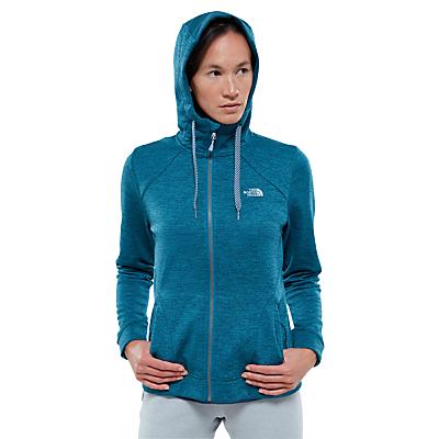 The North Face Kutum Full Zip Fleece Women's Hoodie Jacket, Blue