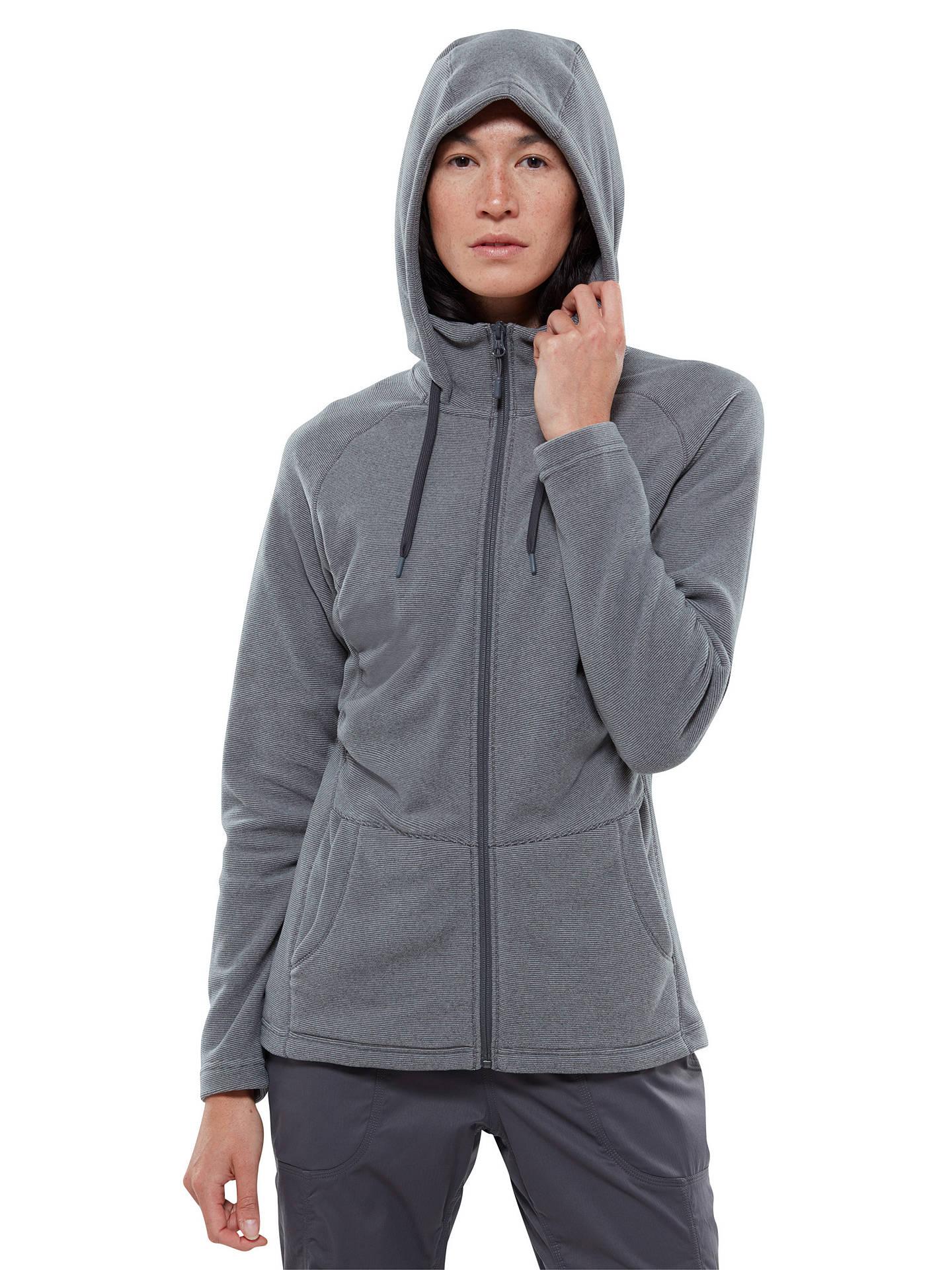 224daff16 Buy The North Face Tech Mezzaluna Full Zip Fleece Hoodie, Grey, S Online at  ...