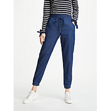 Buy Great Plains Darla Denim Joggers, Indigo Wash Online at johnlewis.com