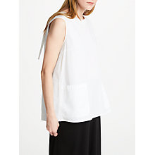Buy Great Plains Simone Sleeveless Top, White Online at johnlewis.com