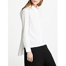Buy Great Plains Simone Long Sleeve Shirt, White Online at johnlewis.com