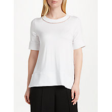 Buy Great Plains Sudbury Stretch T-Shirt, White Online at johnlewis.com